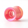 Acrylic Flesh Tube Internally Threaded Neon Colors Pink