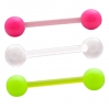 Bioflex Tongue Barbell Neon 2