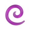 Expander Spiral Clear Colors Purple