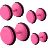Fake Plug Electric Colors Pink