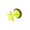 Fake Plug Star Electric Colors Yellow