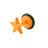 Fake Plug Star Electric Colors Orange