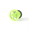 Fake Plug Star Ring Electric Colors Yellow