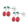 Stainless Steel Stud Cherry Shape