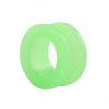 UV Flesh Tunnel Neon Colors Big Green